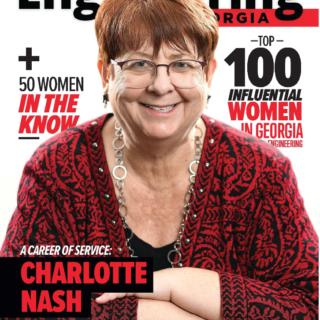 Nancy Named Top 100 Influential Women in Georgia Engineering