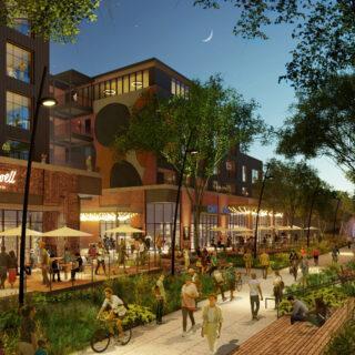 Vertical Construction Begins at Echo Street West