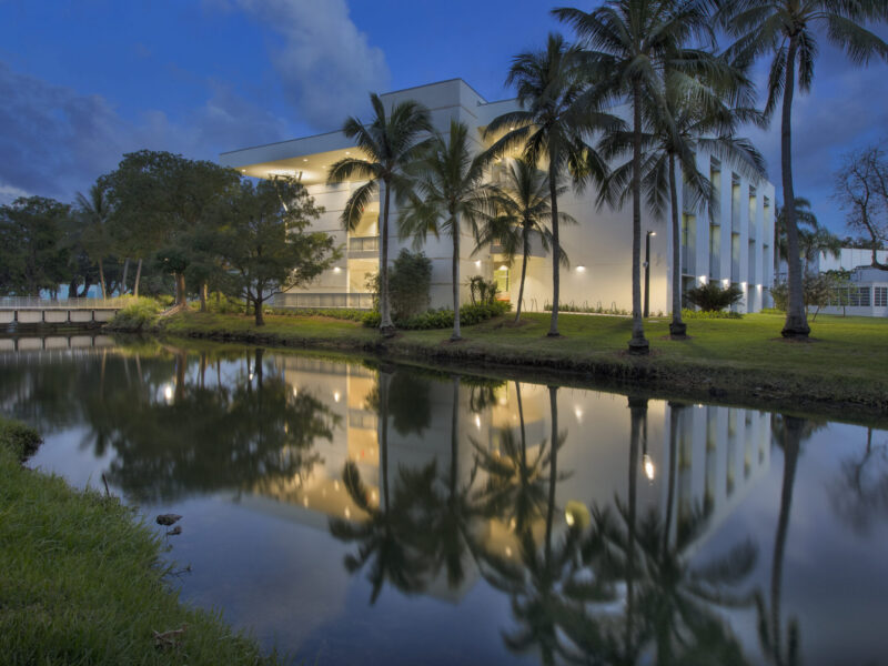 University of Miami Student Services Building